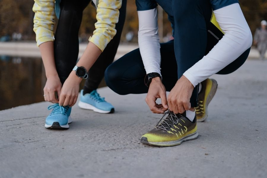 La influencia de la zapatilla para los runners